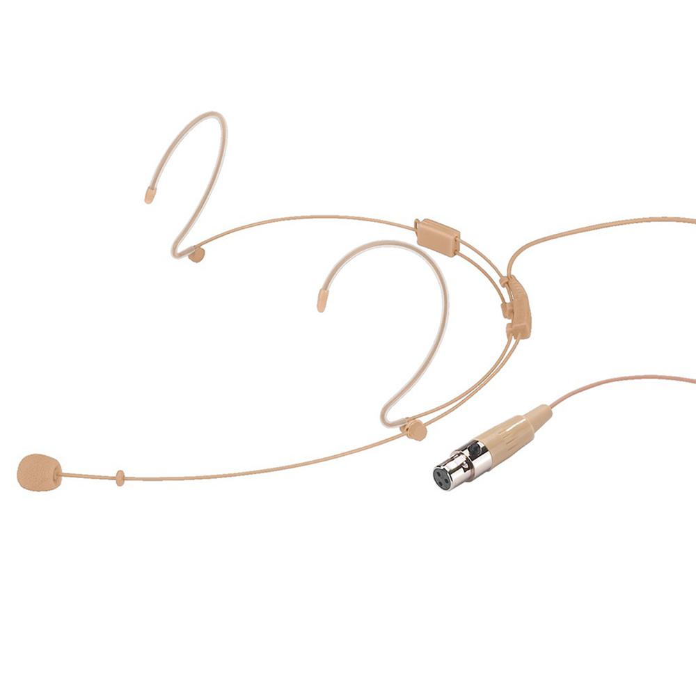 Monacor 235530 HSE-140/SK Headworn Microphone Vocal Headset