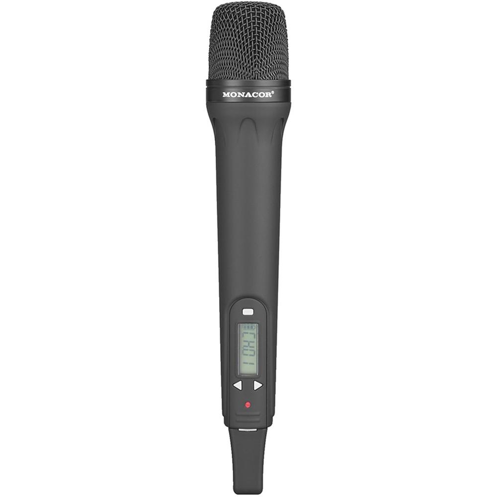 Monacor 172260 TXA-800HT Handheld UHF Wireless Dynamic Microphone