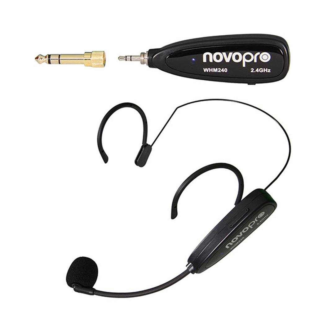 Novopro WHM240 Wireless Headset Microphone System