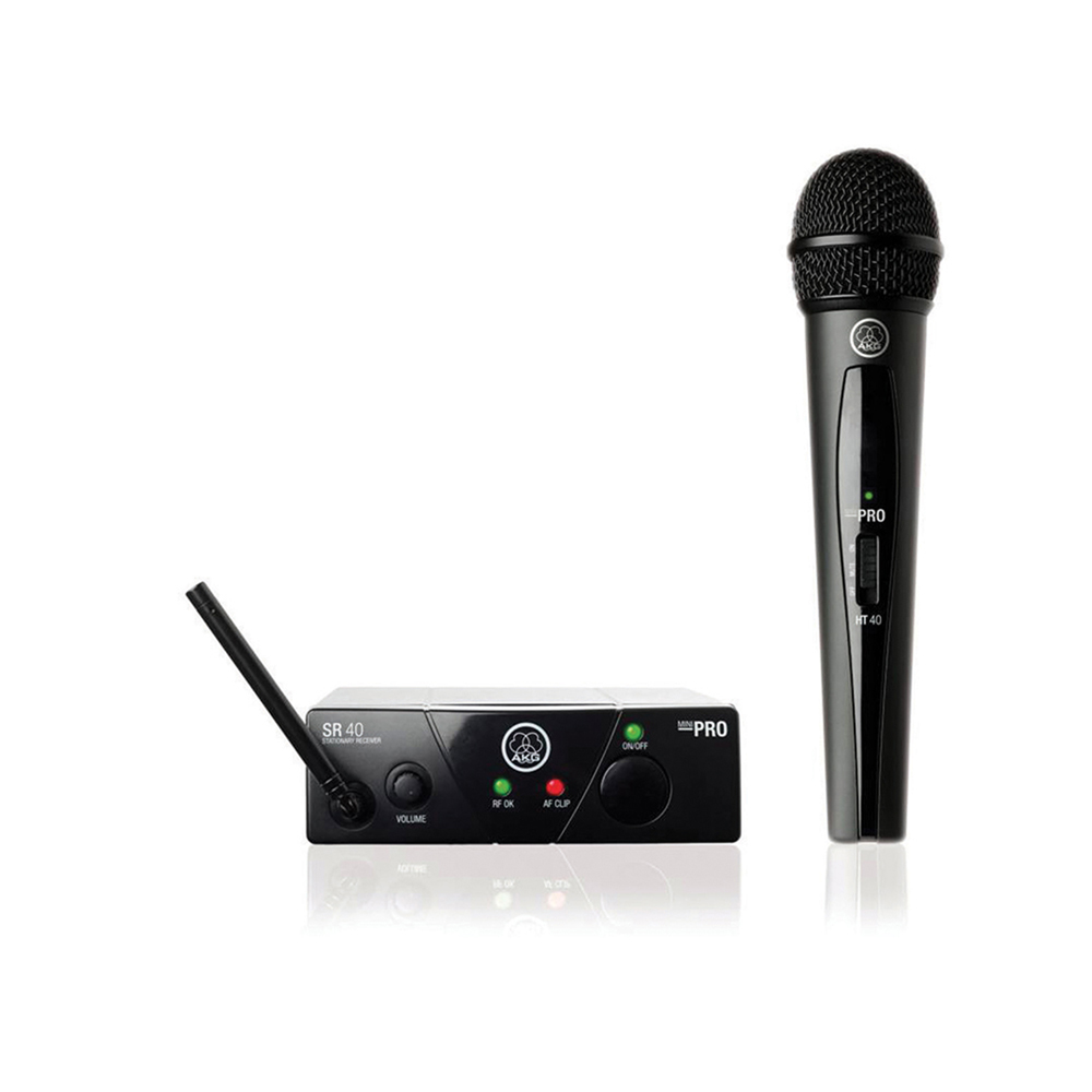 AKG HR165 WMS40 MINI Wireless UHF Microphone system Frequencies MHz 863.1