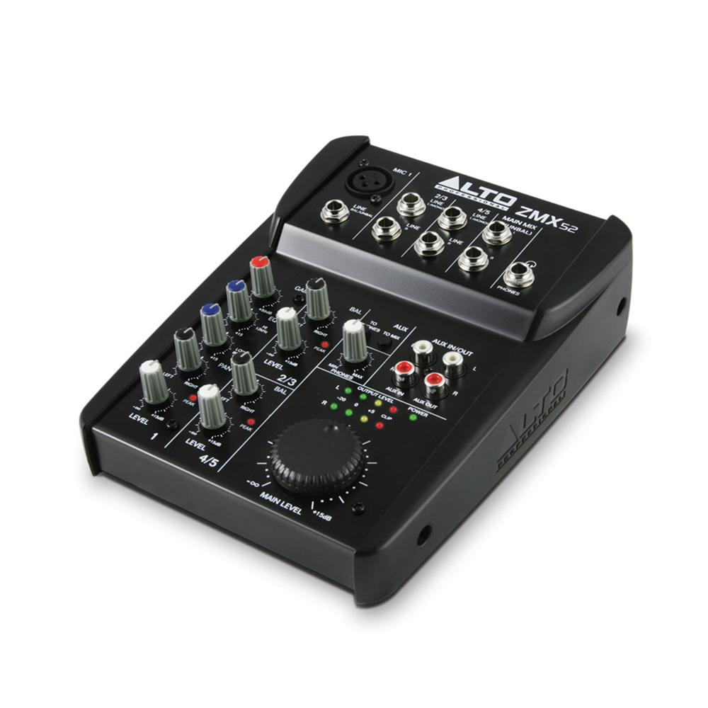 Alto ZMX52 5 Channel Compact PA Mixer