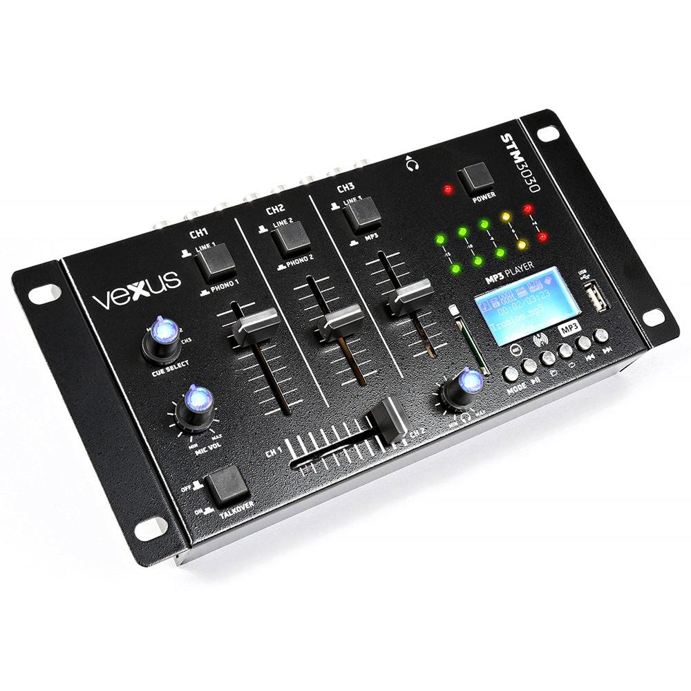 vexus stm3030 bluetooth wireless dj mixer 4 channel sd usb mp3 live recorder 5055839186109 ebay. Black Bedroom Furniture Sets. Home Design Ideas