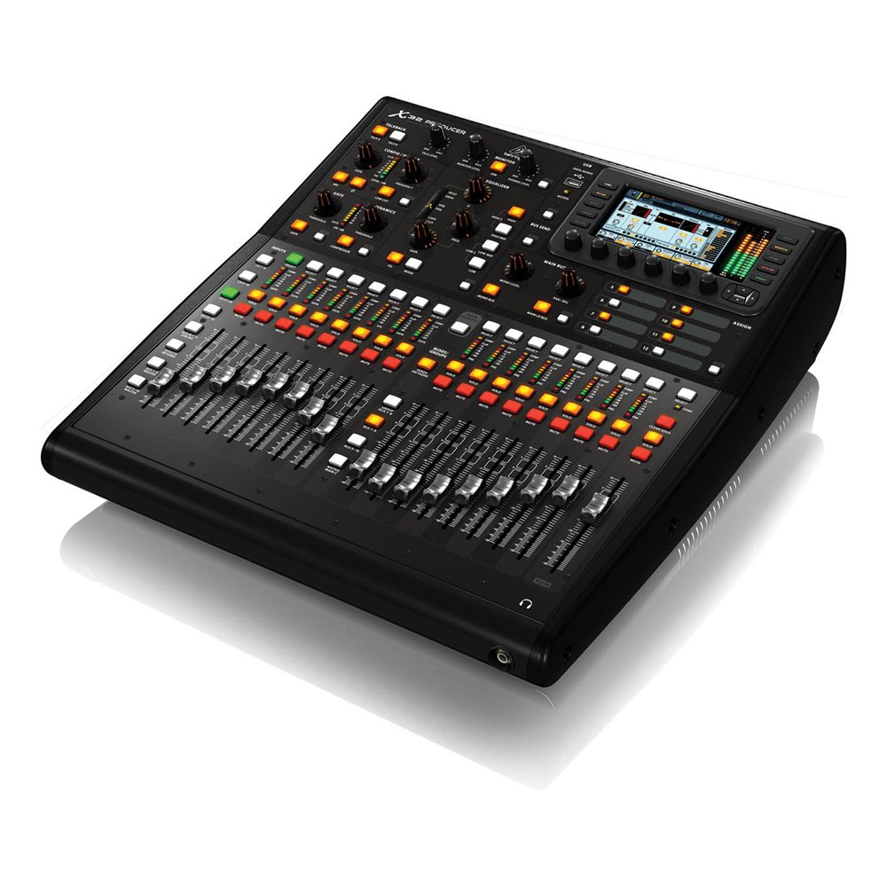 behringer x32 producer 16 channel digital mixer mixing desk ebay. Black Bedroom Furniture Sets. Home Design Ideas