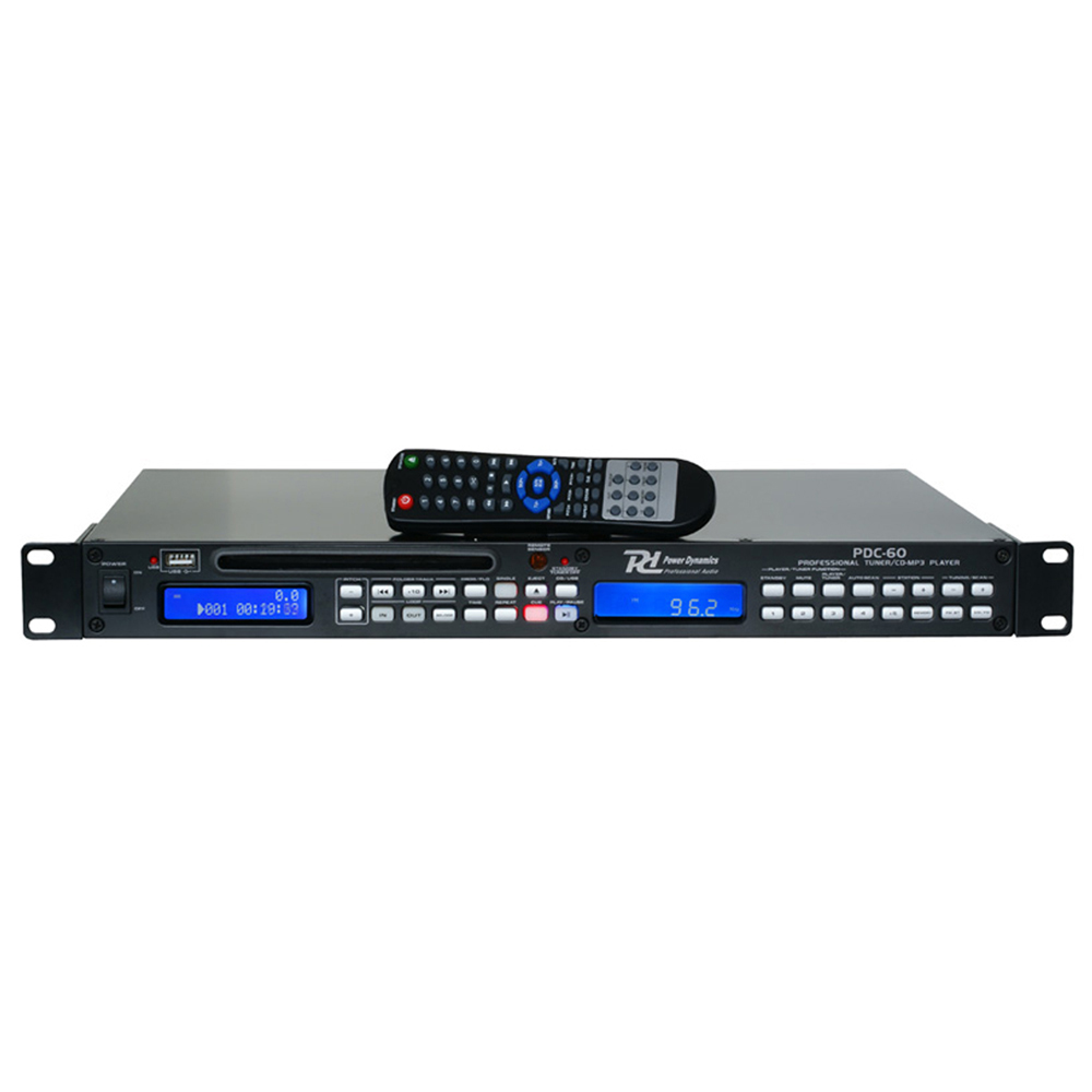 power dynamics rackmount cd player with mp3 usb ebay. Black Bedroom Furniture Sets. Home Design Ideas