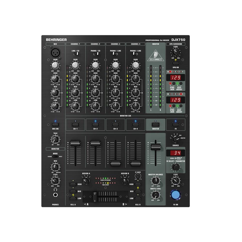 Behringer DJX750 5 Channel Pro DJ Mixer