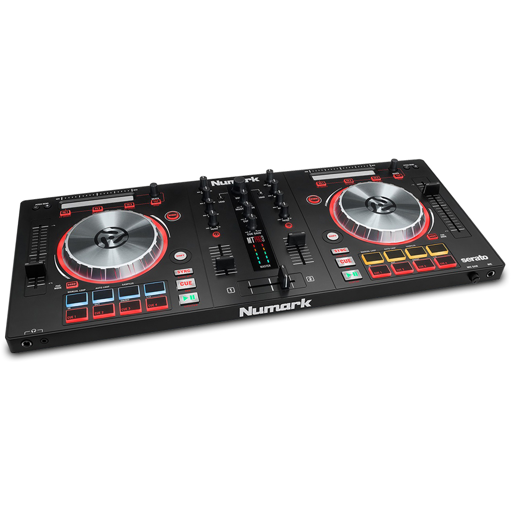 numark mixtrack pro 3 all in one controller solution for serato dj ebay. Black Bedroom Furniture Sets. Home Design Ideas