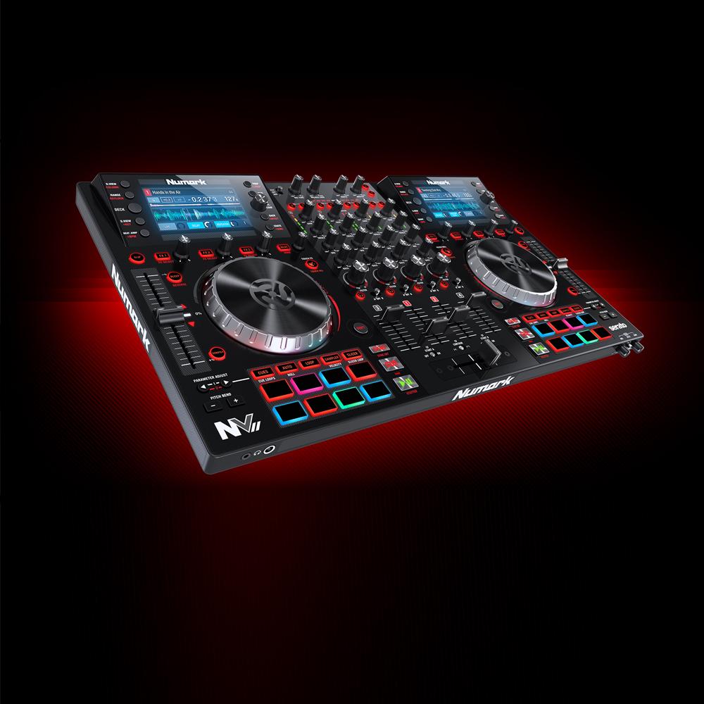 Numark Nv Ii Professional Usb Midi Dj Controller Mixer