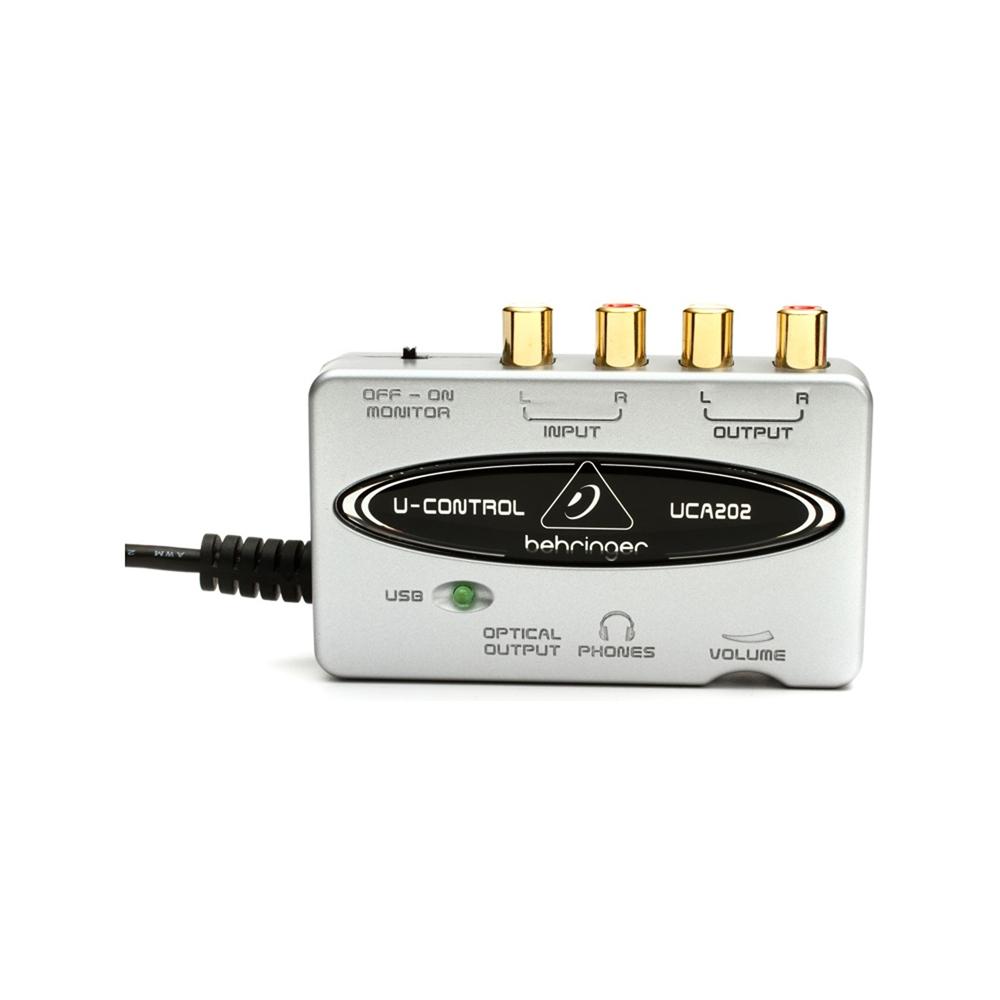 behringer u control uca202 2 input output usb audio interface ebay. Black Bedroom Furniture Sets. Home Design Ideas