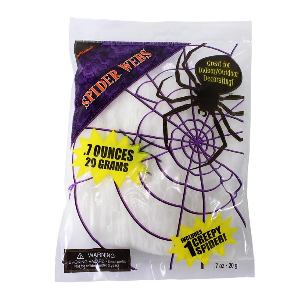 White Stretchy Spiders Cob Web
