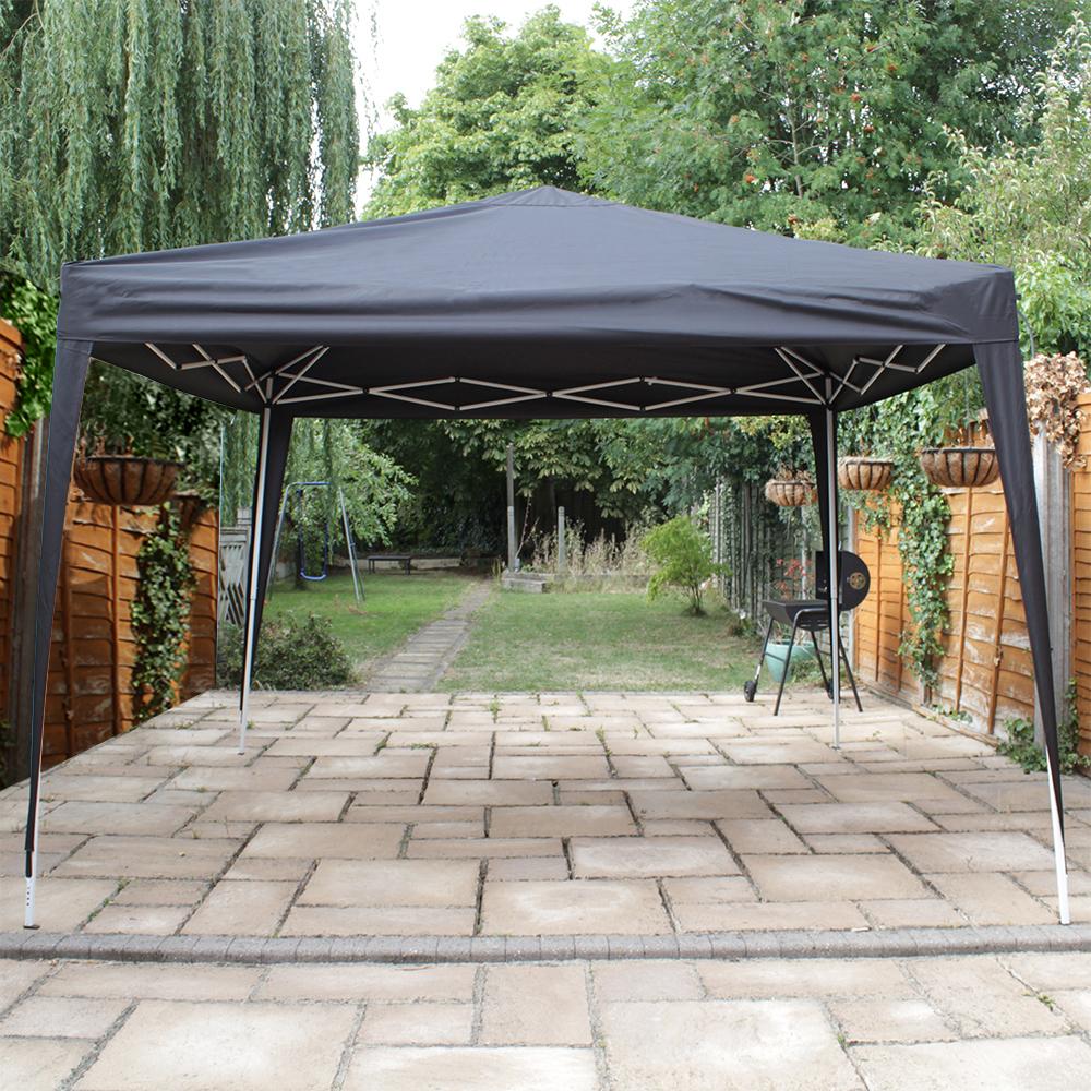 Heavy Duty Awning : Canoup heavy duty pop up gazebo canopy garden outdoor