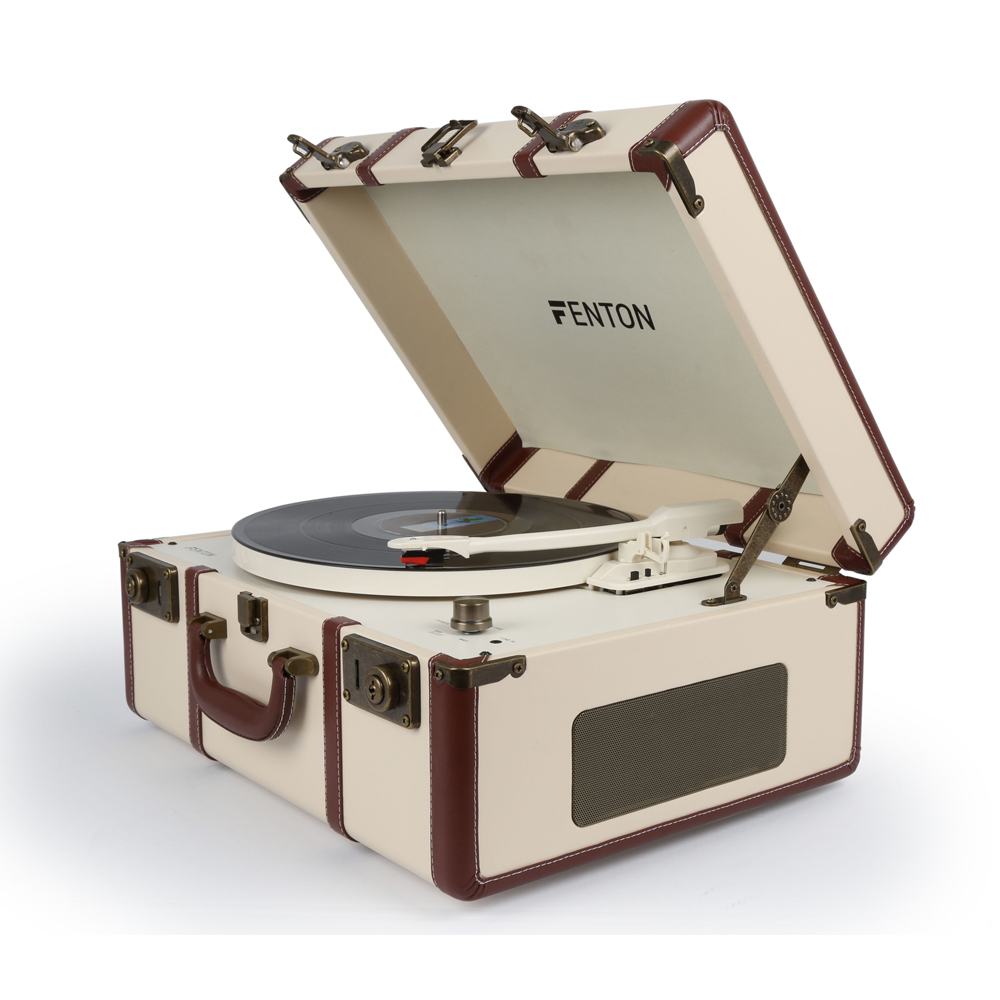 Fenton Rp145 3 Speed Retro Vinyl Lp Record Player