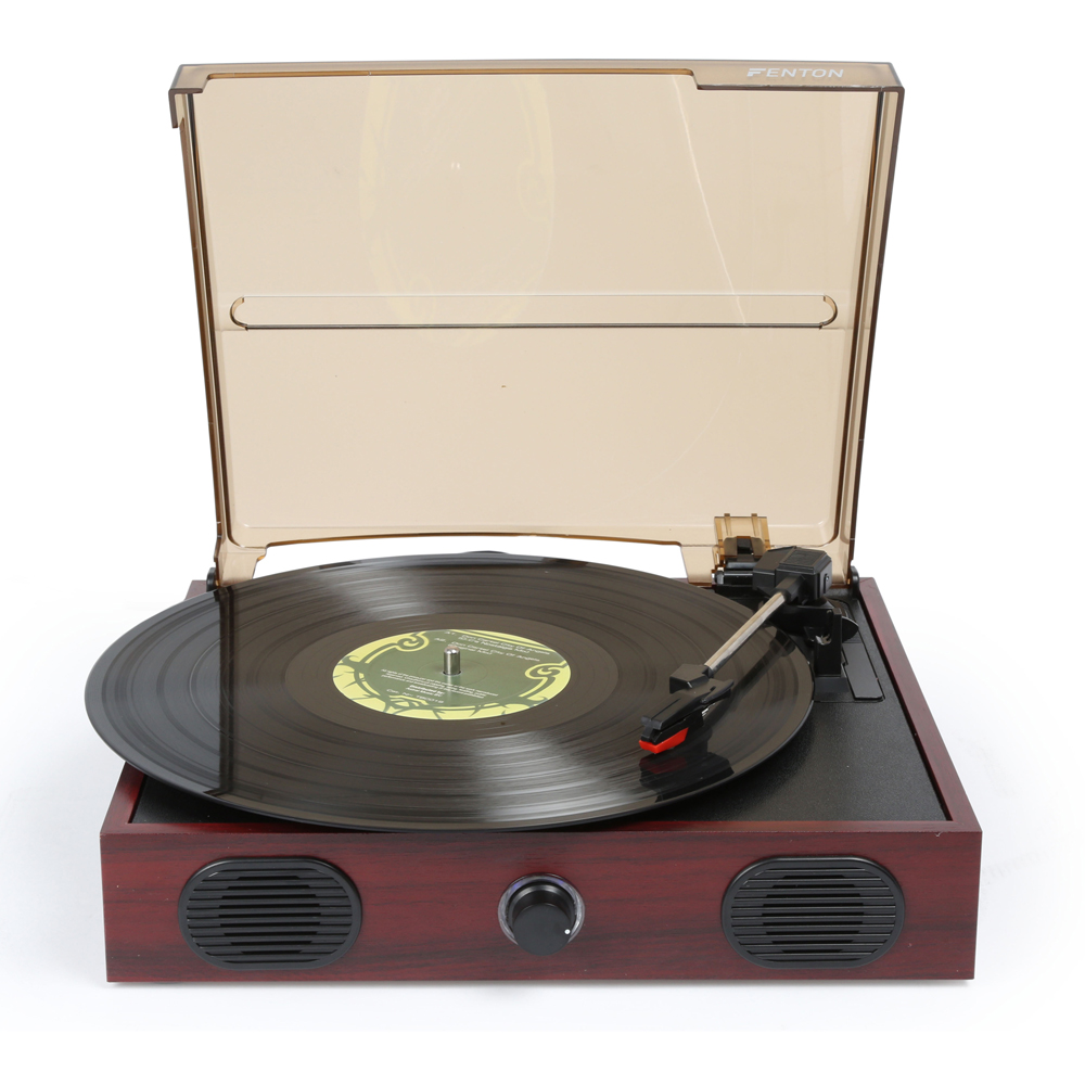 Fenton Rp105 2 Speed Retro Vinyl Lp Record Player