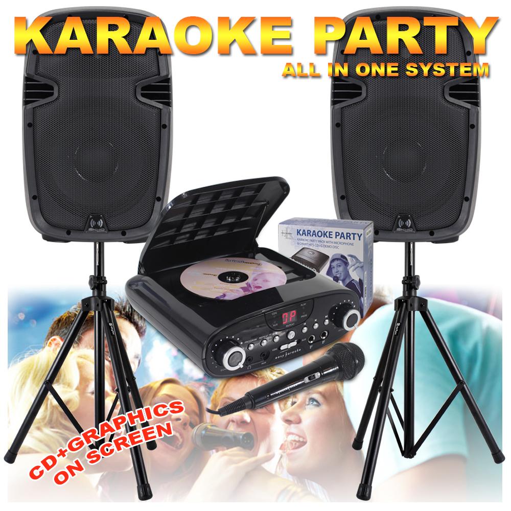 new karaoke machine