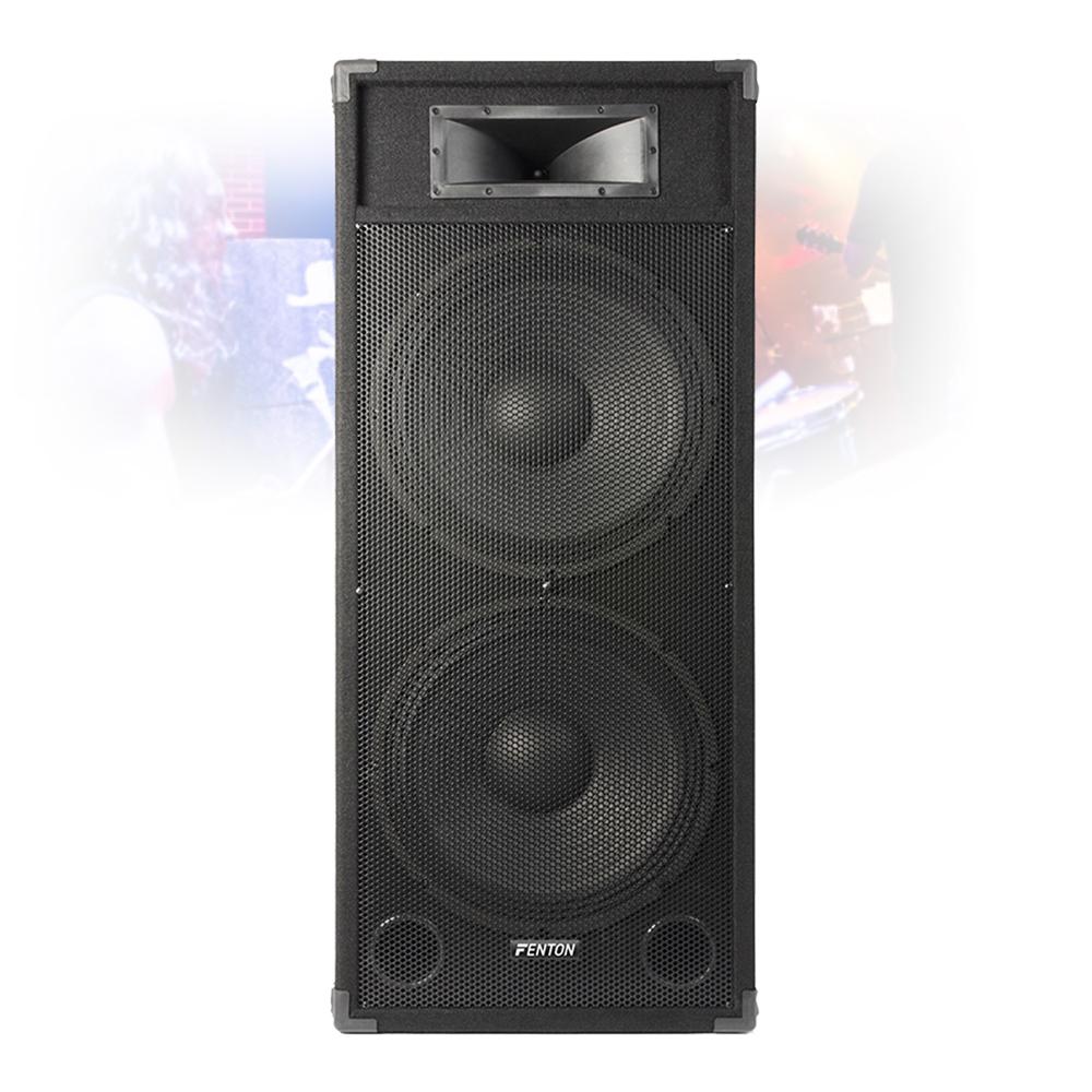 dual 15 inch active powered speaker home dj party pa karaoke system 1600w 5056141300986 ebay. Black Bedroom Furniture Sets. Home Design Ideas