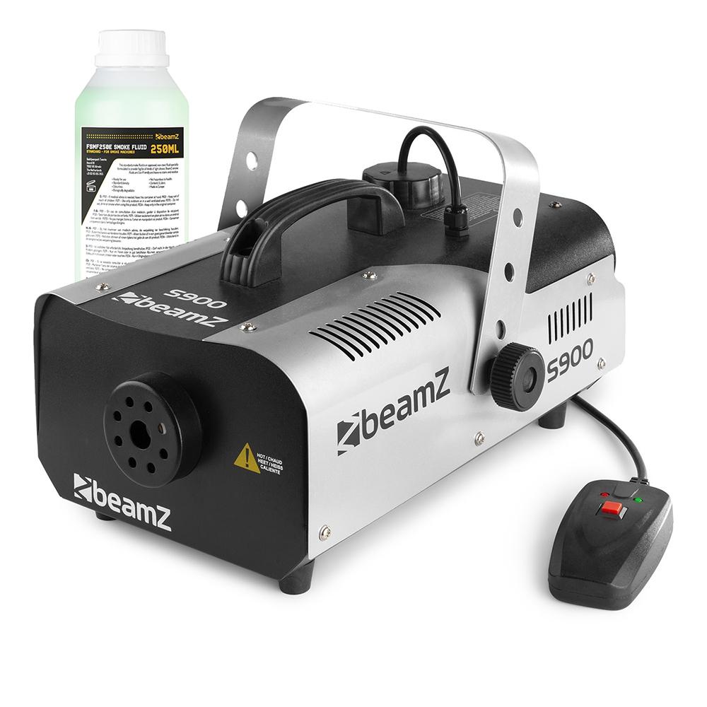 Beamz Smoke Machine + Fluid 250ml 900W