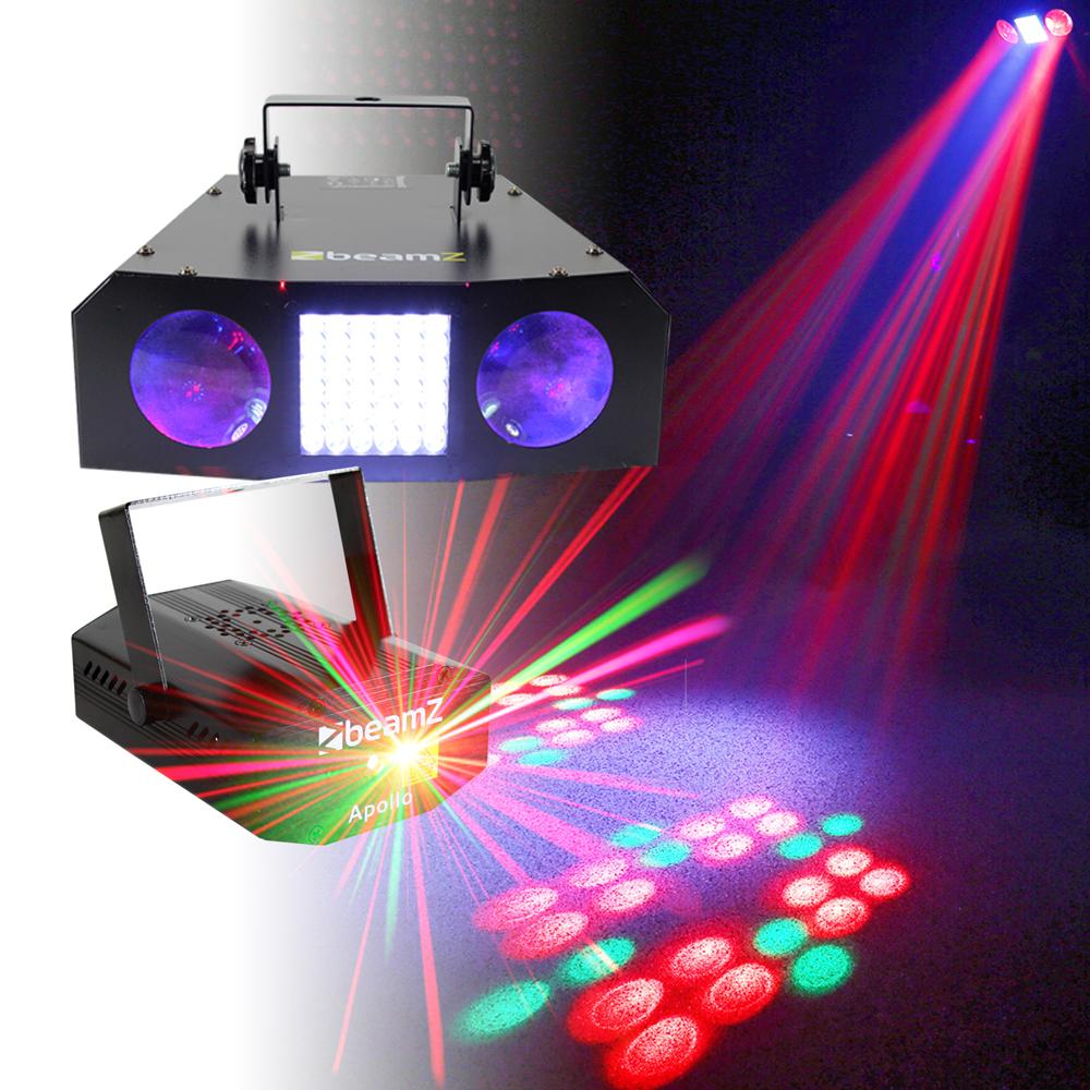 Dj Disco Party Light Colour Led Dual Lense Strobe Dot