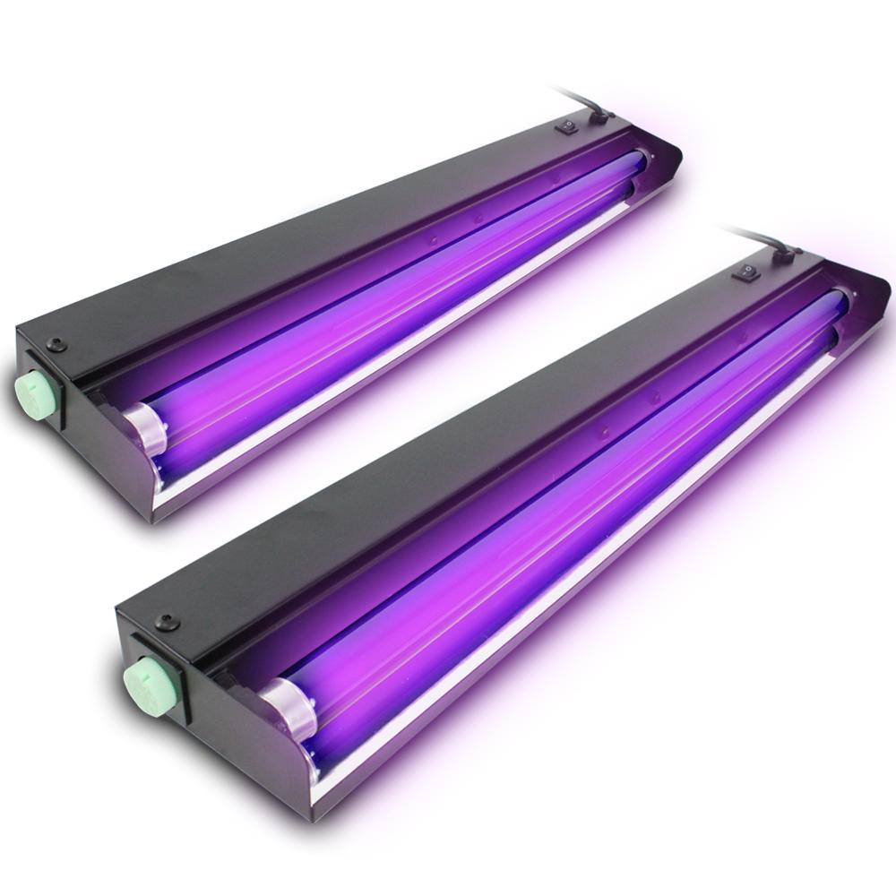 BeamZ UV Tube Lights 60cm, Set of 2