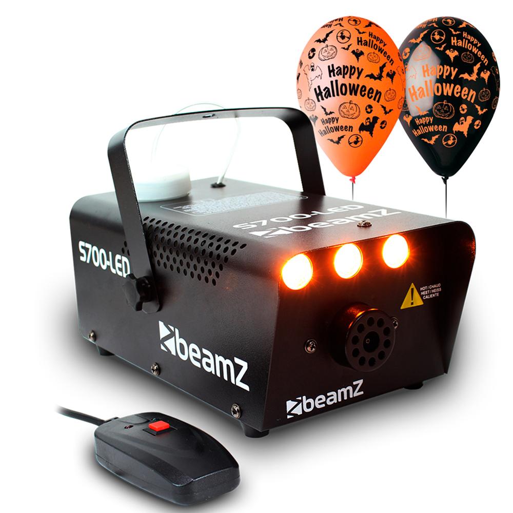 Smoke Fog Mist Effect Machine, Fire Flame FX Light Halloween House Party HPK4