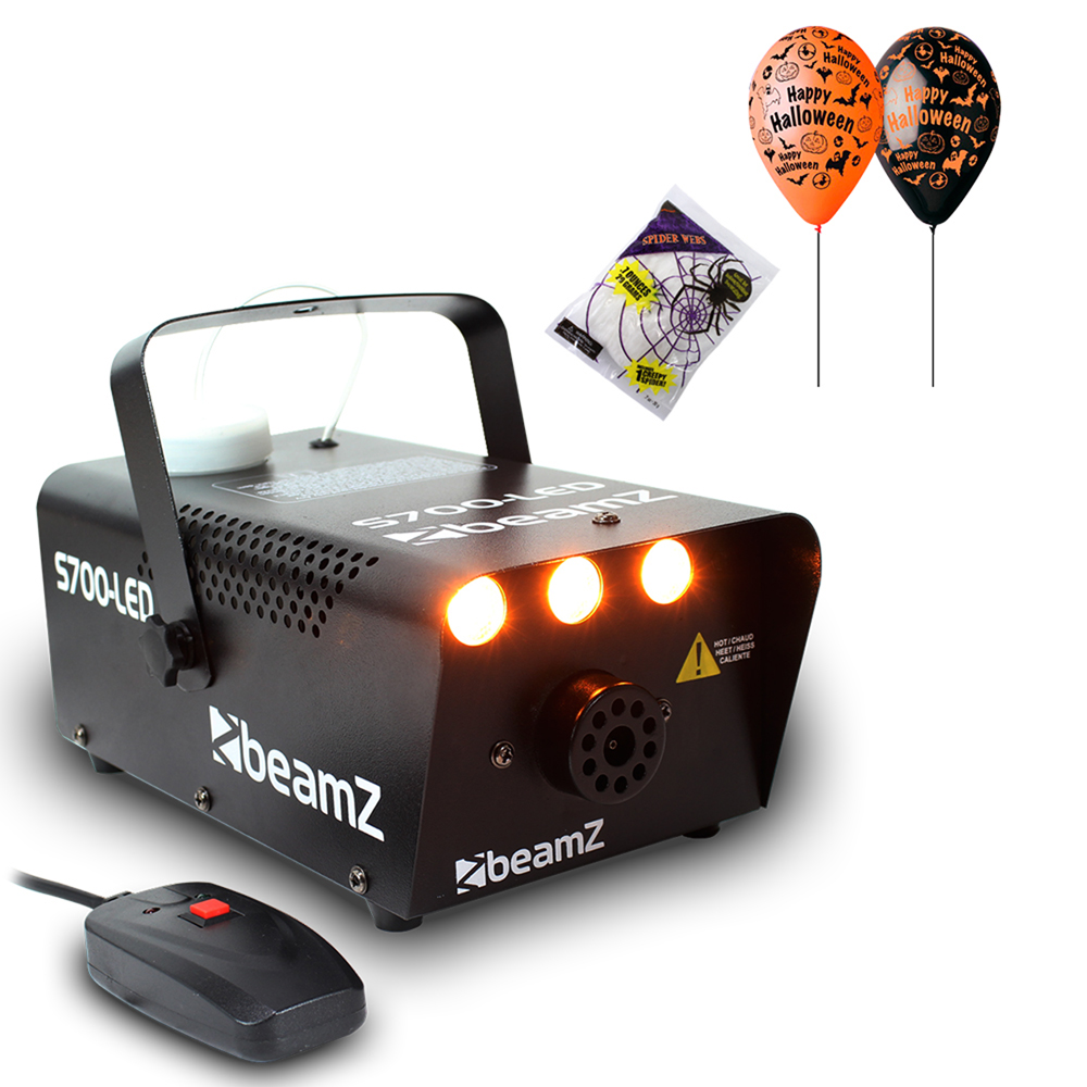 Halloween Party Package with S700 Smoke Machine & Halloween Decorations