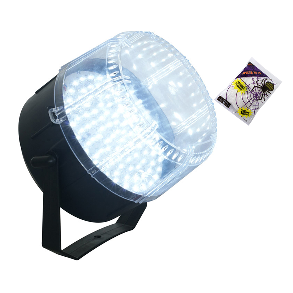 Halloween Party Package with LED Strobe Light High Intensity & Halloween Decorations