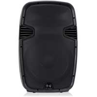 Front view of the Ekho RS15A 15 inch Active Speaker