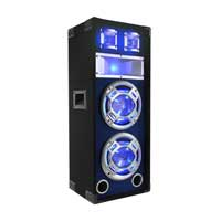 "Skytec 10"" Dual Passive LED Party Speaker"