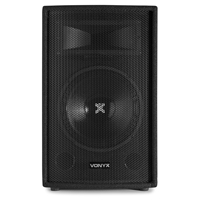 "Vonyx 12"" Passive 2-Way DJ PA Speaker 600W"