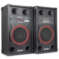 "Fenton 178.440 SPB-10 10"" Powered Speaker Set"