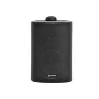 Adastra Indoor/Outdoor Wall Speakers 100V Line, Black