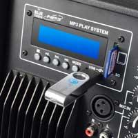 """Skytec 12"""" Active Bluetooth DJ PA Speaker Pair"""