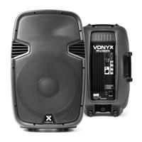 """Vonyx SPJ-1500A 15"""" Active Speaker 800W"""