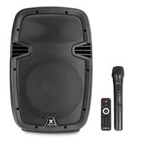 Vonyx SPJ-PA910 Portable PA Speaker with Bluetooth + Wireless Mic