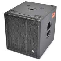 "Power Dynamics Pro 15"" Active Powered PA Subwoofer Speaker Bin DJ 800W
