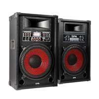 Fenton SPA1200 Bluetooth Active Party PA Speaker Pair