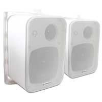 Adastra 100V Line Indoor/Outdoor Wall Speakers 60W Pair - White