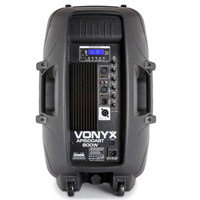 "Vonyx AP1500ABT 15"" Bluetooth Active Speaker"