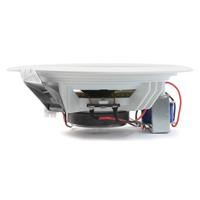 "PD CSPB5 5"" Ceiling Speaker 100V Line, Set of 8 with PBA60 Amplifier & 2 Volume Control"