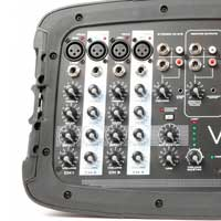 """PA System Package - Vonyx PSS302 10"""" Speakers, Mixer, Mics & Stands"""