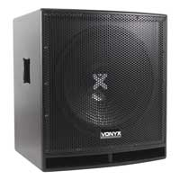 "Vexus SWP15 Pro 15"" Powered Active DJ Subwoofer Bass Speaker 800W"