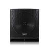 "Vexus SWP18 Pro 18"" Powered Active DJ Subwoofer Bass Speaker 1200W"
