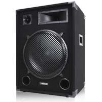 "MAX SP15 DJ Speaker 15"" 1000W Full Range Woofer Bedroom DJ Mobile Disco Party"