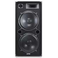 """Max SP215 DJ Disco PA Speaker Dual 15"""" Woofers Full Range Drivers 2000W"""