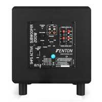 "8"" Active HiFi Subwoofer - Fenton SHFS08B - 200W"