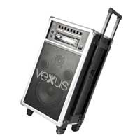 "Vexus ST110 Active Powered Portable PA Sound System 8"" CD/SD/USB/MP3 Speaker"