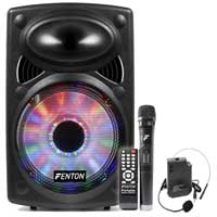 Fenton FPS15 15 inch Portable Bluetooth Active Speaker