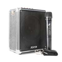 Fenton ST040 Portable PA Powered Bluetooth Amplifier Speaker System USB/VHF 40W