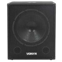 Vonyx SMWBA18 Bi-Amplified Subwoofer Active Powered DJ Disco PA 18 Inch Sub 1000W
