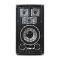 Vonyx TX8 Passive Full Range 8 Inch DJ Disco House Party PA Speaker 500W Max