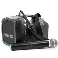 Vonyx ST-010 Portable Personal PA Bluetooth Wireless Handheld Microphone Amplifier System