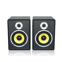 "Power Dynamics PDSM6 6.5"" Active Studio Monitors Pair"